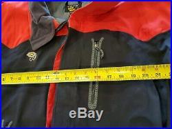 Mountain Hardwear Red XL (X-Large)GORE-TEX Vented soft Shell Ski Jacket Mens