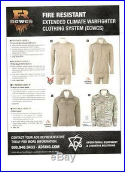 Multicam FR Soft Shell Jacket FR ECWCS L5 By Government Contractor