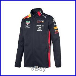 NEW 2019 RED BULL Racing F1 MENS Team Soft Shell Jacket Coat Verstappen OFFICIAL