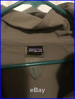 NSW DEVGRU CAG Patagonia PCU lvl5 Soft shell Jacket Large regular ALPHA GREEN