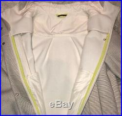 NWOT Lululemon New Studio Soft Shell Jacket Angel Wing Cream/Grey Tweed 12