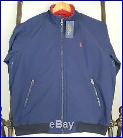 NWT POLO SPORTSMAN Large Mens RESPECT WILDLIFE Fleece Lined Nylon Jacket Lauren