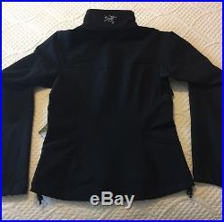 NWT Womens Arcteryx Gamma LT Jacket Black XS X-small New With Tags