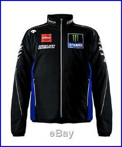 New Descente Movistar Yamaha MotoGP Team Soft Shell Jacket 2019 Q5DYSK67800