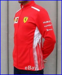 New PUMA Scuderia Ferrari Team Soft Shell Jacket 2018 / TM-W 762366-01 Japan