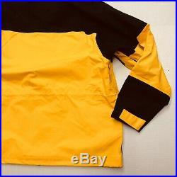Nike ACG Gore-Tex Jacket Amarillo Yellow Black BQ3445-728 Mens Size Medium