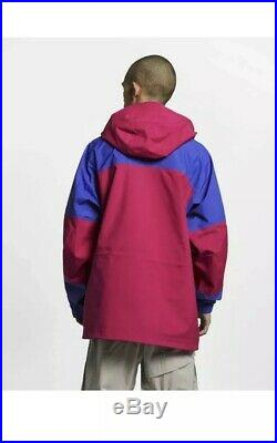 Nike MENS ACG GORE-TEX Jacket Blue Pink BQ3445-666 Size XL 2019 $500 MSRP