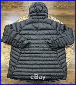 Nike Sportswear Mens Guild Packable Hooded Down Jacket 866027 010 Black Size 3XL