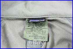 Patagonia Alpha Grey Large Regular Soft Shell Level 5 Combat Jacket Coat L5 PCU