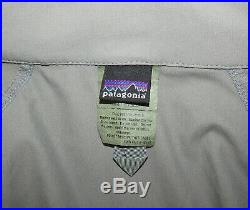 Patagonia Alpha Grey Large Regular Soft Shell Level 5 Combat Jacket PCU