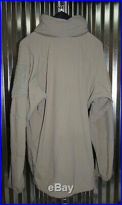 Patagonia Alpha Grey Medium Long Soft Shell Level 5 Combat Jacket Coat L5 PCU ML