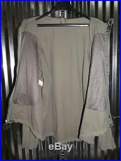 Patagonia Alpha Grey Medium Regular M R Soft Shell Level 5 Combat Jacket L5 PCU
