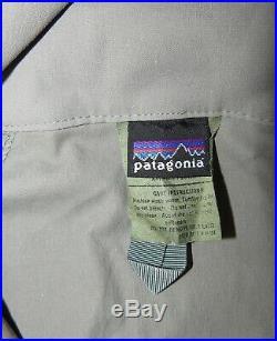 Patagonia Alpha Grey XX Large Long Soft Shell Level 5 Combat Jacket Coat L5 PCU