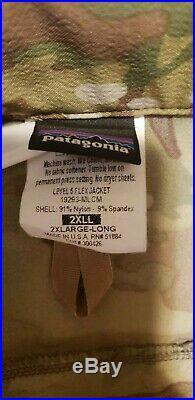 Patagonia Level 5 PCU Soft Shell Jacket XXLARGE-REGULAR (2XL-L) Multicam SOCOM