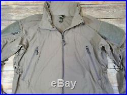 Patagonia Level 5 Soft Shell PCU Jacket Alpha Green size Large Regular SOF