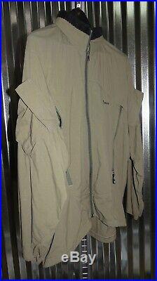 Patagonia Mars Slingshot Soft Shell Medium LG R2 Jacket Coat OD Green PCU