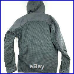 Patagonia Men's Medium Nano Air Light Hybrid Hoody Jacket Forge Grey New