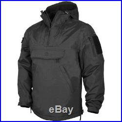 Pentagon UTA Urban Tactical Anorak Water Resistant Soft Shell Mens Jacket Black