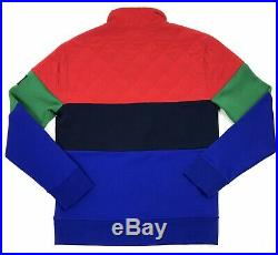 Polo Ralph Lauren Hi Tech Rafting Club Sweatshirt Pullover Colorblock Sz Medium