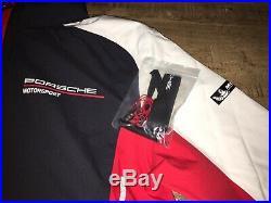 Porsche Motorsport Mens Softshell Jacket U. S. Size Large, E. U. Size XL