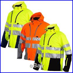 Projob Hi Vis Functional Softshell Work Jacket Class 3/2 646419