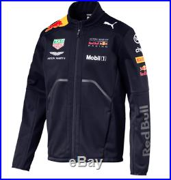 Puma Red Bull Racing RBR Team Softshell Men's Jacket Night Sky