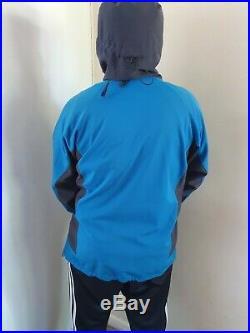 Rab Soft Shell Waterproof Jacket Size Large /blue/grey