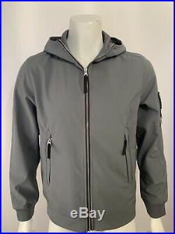 Sale Price! Stone Island Soft Shell-r Grey Jacket Size Small 721540927 Rrp £470