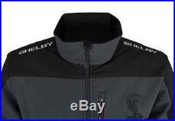 Shelby Snake Logo Tar & Black Soft Shell Jacket S4200-TAR