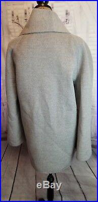 St john xl coat jacket cover up gray spring angora cashmere NWT NEW $899.00