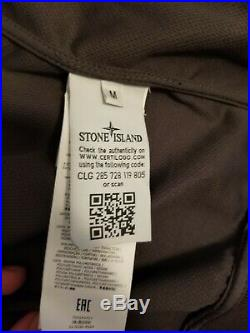 Stone Island 43427 Light Soft Shell-R Jacket Medium