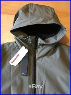 Stone Island Jacket Soft Shell-R With Primaloft Insulation. Medium. Grey