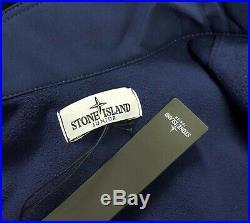 Stone Island Junior Ink Soft Shell Jacket Age 4