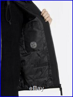 Stone Island Soft Shell R With Primaloft Insulation Black Jacket -S RRP£550