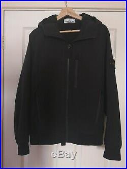 Stone island Soft Shell-R jacket, Black, Medium
