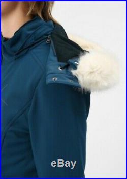 Sweaty Betty Exploration Softshell Ski Jacket Beetle blue size Medium BNWT