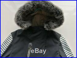 Sweaty Betty Method Softshell Ski Jacket Size S Black 2299-C