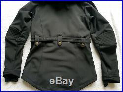 Sweaty Betty Softshell Ski Jacket Black With Gold Zips Size S 1896-C