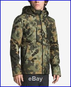 The North Face Mens Apex Elevation Jacket Green Camouflage