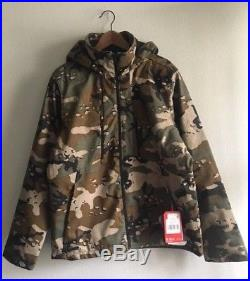 The North Face Mens Apex Elevation Soft Shell Jacket Woodland Camo Size S M L