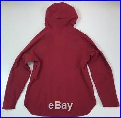 The North Face Women's Apex Flex Goretex Waterproof Rain Jacket Rumba Red Large