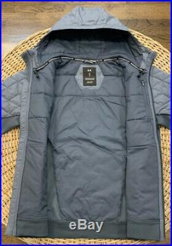 Under Armour Men's UA ColdGear Reactor Performance Hybrid Hooded Jacket 1342692