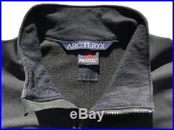 VTG ARCTERYX Canada Gamma MX Jacket Soft Shell Fleece Black Men L LEAF Veilance