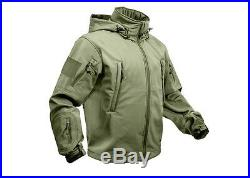 Waterproof Tactical Jacket Special Ops Soft Shell Olive Drab 9745 Rothco