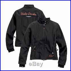 Women's Harley-Davidson Heated Soft Shell withBattery Riding Jacket. 98560-15VW